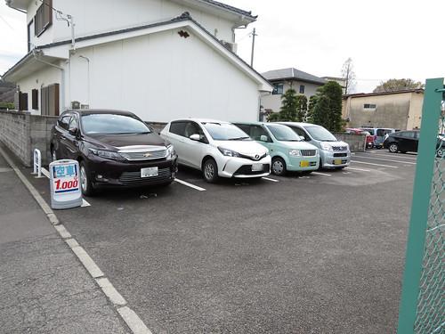 福島競馬場の第2駐車場付近の民間駐車場
