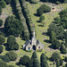 Park Rd Cemetery in Holbeach - Lincolnshire aerial image