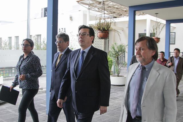 Entrega de Denuncias Relacionadas con Sumarios Administrativos a Fiscalía General del Estado