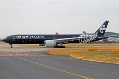 Air New Zealand Boeing 777-319(ER) ZK-OKQ All Blacks LHR 01-07-18