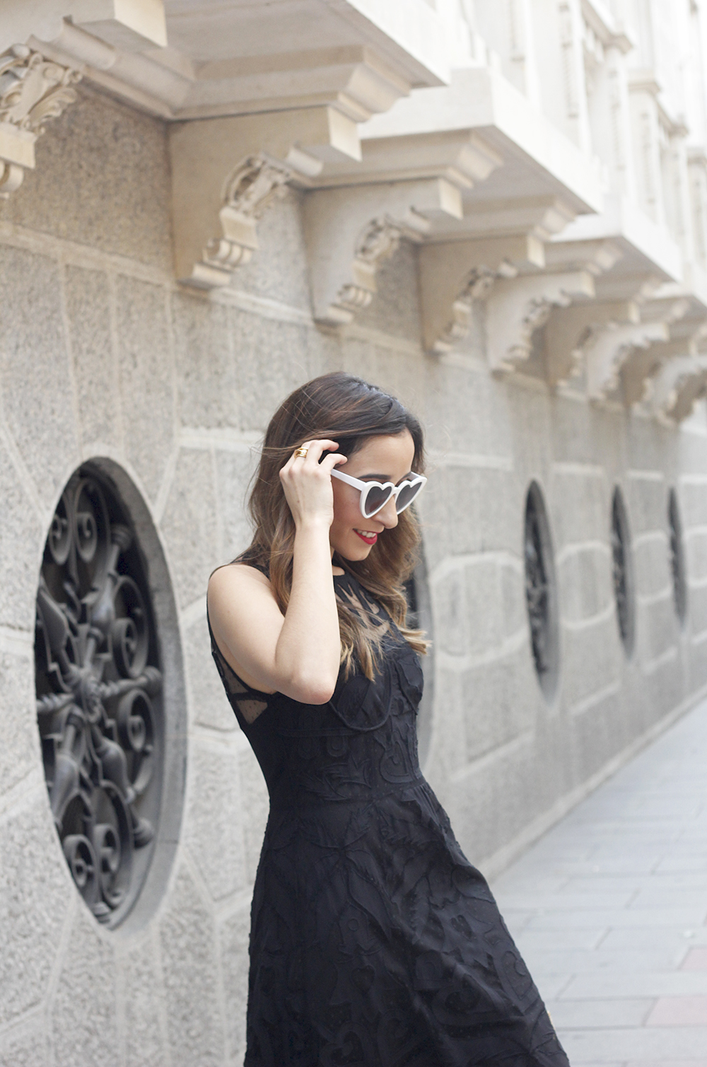 black lace maxi dress summer outfit 2018 11