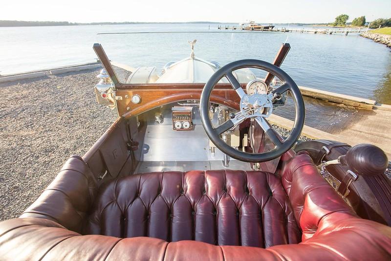 1913 Rolls-Royce 40-50-H.P. Silver Ghost London-to-Edinburgh Sport Tourer,