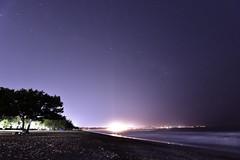 Kuta Beach at night