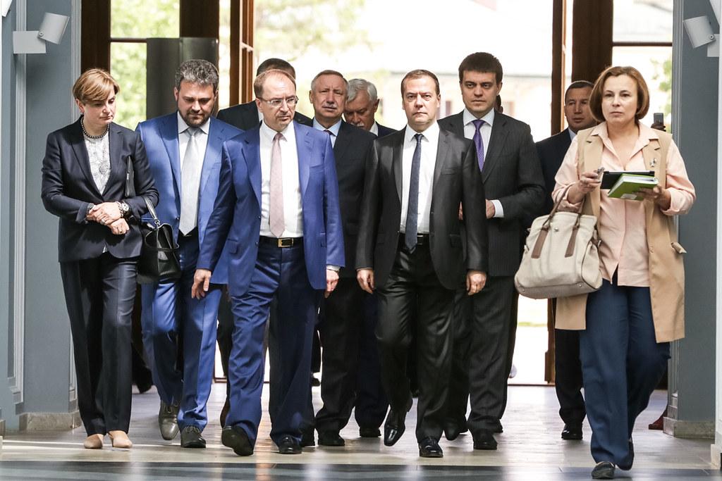 Дмитрий Медведев посетил кампус «Михайловская дача»