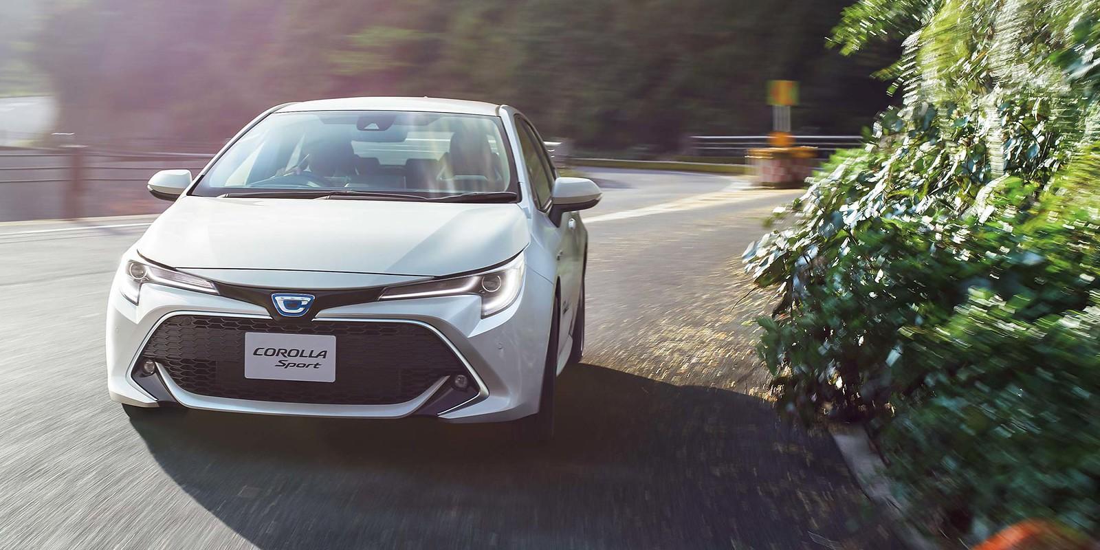 New Toyota Corolla Sport 2018~2019