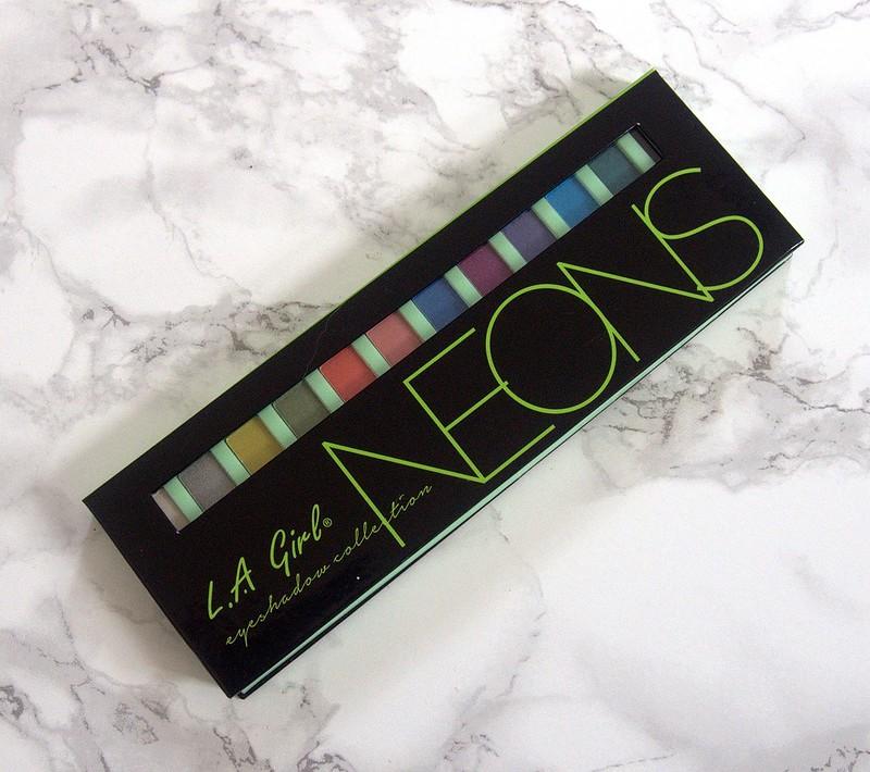 L.A.Girl Neon palette