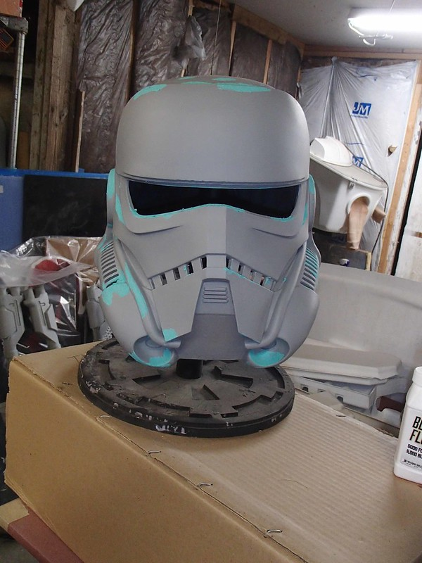 Patrol Trooper Helmet Fine Smoothing