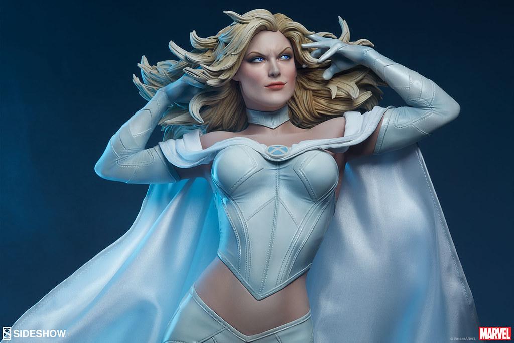 白皇后駕到~! Sideshow Collectibles Premium Format Figure 系列 Marvel【艾瑪·佛斯特】Emma Frost 1/4 比例全身雕像作品