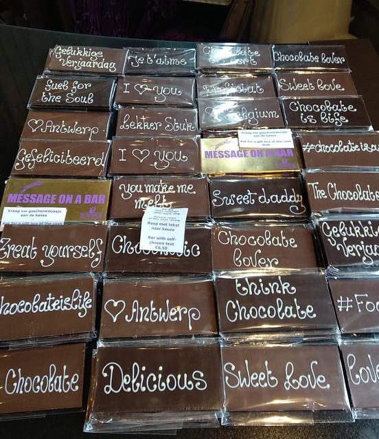 chocolate personalizado  - 43354615322 ca69839939 z - The Chocolate Line: un paraíso para los amantes del chocolate.