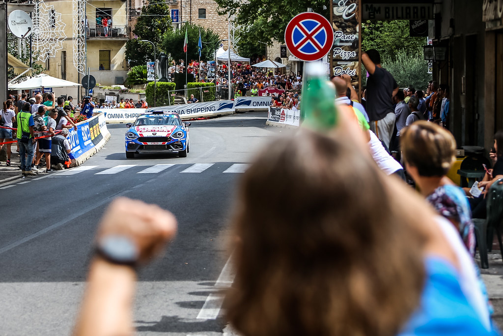 31 NUCITA Andrea (ita), VOZZO Marco (ita), Abarth 124 Rally, action during the 2018 European Rally Championship ERC Rally di Roma Capitale,  from july 20 to 22 , at Fiuggi, Italia - Photo Thomas Fenetre / DPPI
