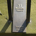 Open Plaque - Preston, 31 Winckley Square [James Bond] 180505