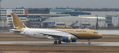 Gulf Air Airbus at FRA
