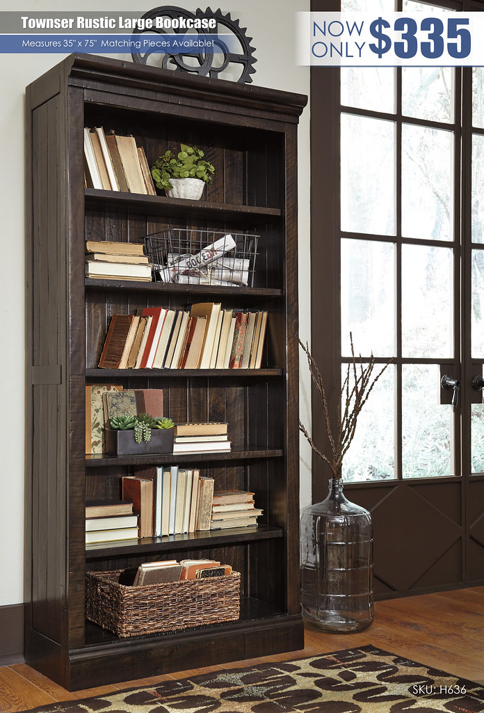Townser Bookcase_H636-17