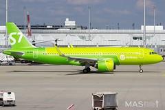 S7 Airlines A320-200 VQ-BRA @ MUC