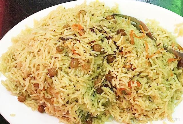 Chicken Pulao from New Sarhad Darbar