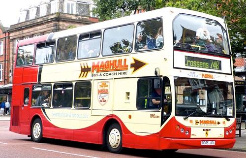 DC05 JCU 'Maghull Coaches', Liverpool. DAF 250LF / East Lancs Myllenium Lowlander on Dennis Basford's railsroadsrunways.blogspot.co.uk'