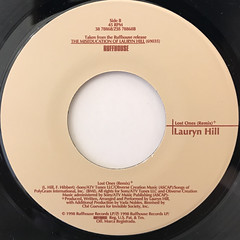 LAURYN HILL:DOO WOP(THAT THING)(LABEL SIDE-B)