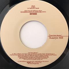 LAURYN HILL:DOO WOP(THAT THING)(LABEL SIDE-B)
