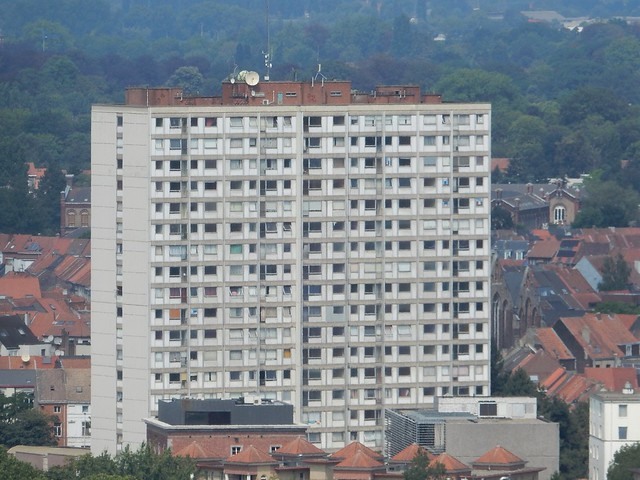 uitzicht op toren Sint-Baafskathedraal: Rabottoren