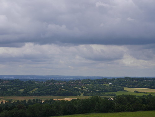 From North Downs to South Downs