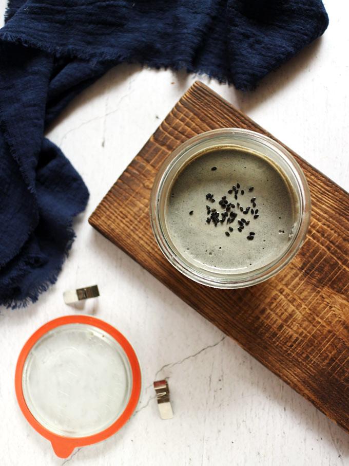 全素黑芝麻慕斯杯 vegan-black-sesame-mousse-cup (1)