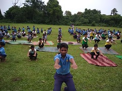 International Yoga Day VKV Sadiya