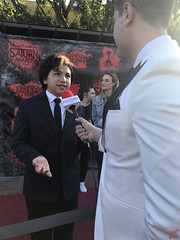 Anthony Gonzalez at the 44th Annual Saturn Awards Red Carpet - IMG_8117