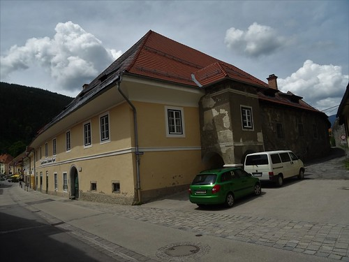 Friesach, Carinthia, state of Austria (the art of public places and listed buildings of Friesach), Bahnhofstraße