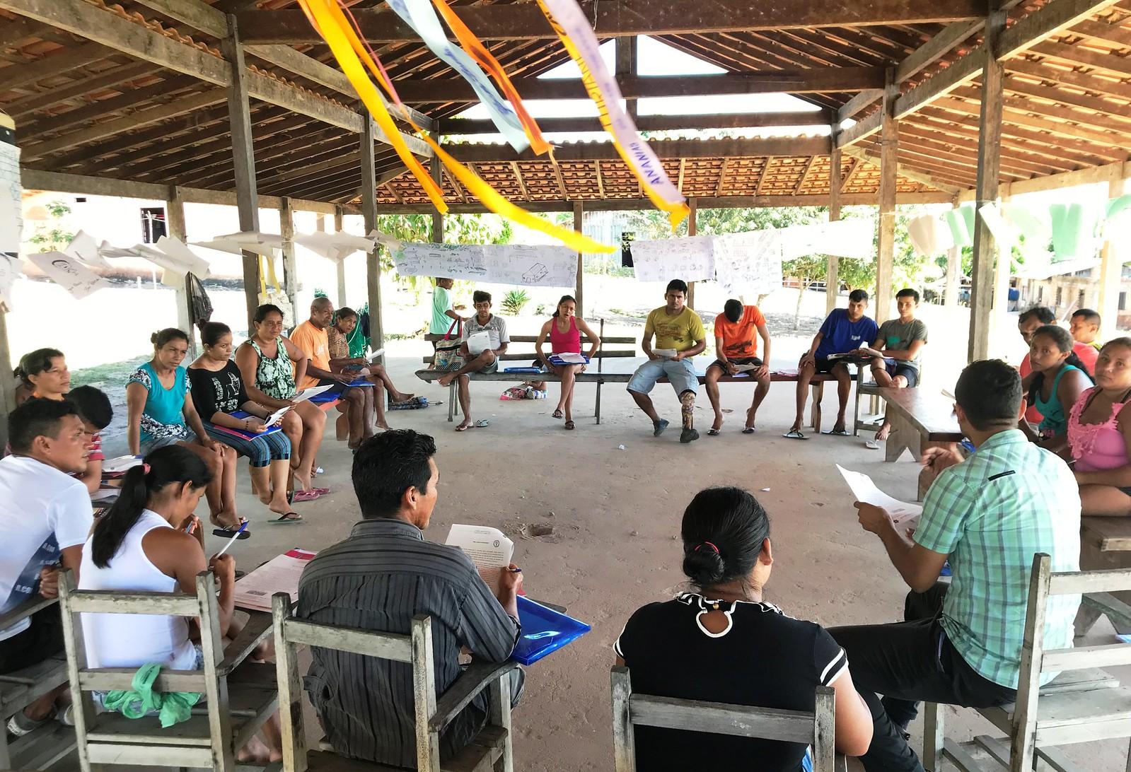 Instituto Alcoa lança a 5ª edição do projeto Cambará, em Juruti, Projeto Cambará comunidade