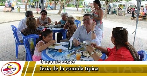 Ricaurte vivió feria de la comida típica