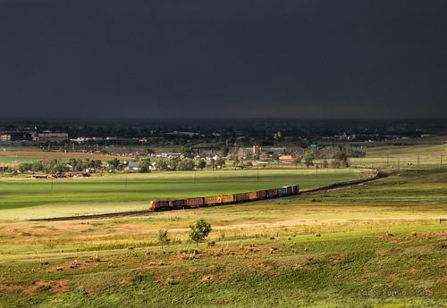 colorado bnsf burlington northern santa fe train trains ge b408w railraod rail road rails lafayette branch longmont boulder co buck local