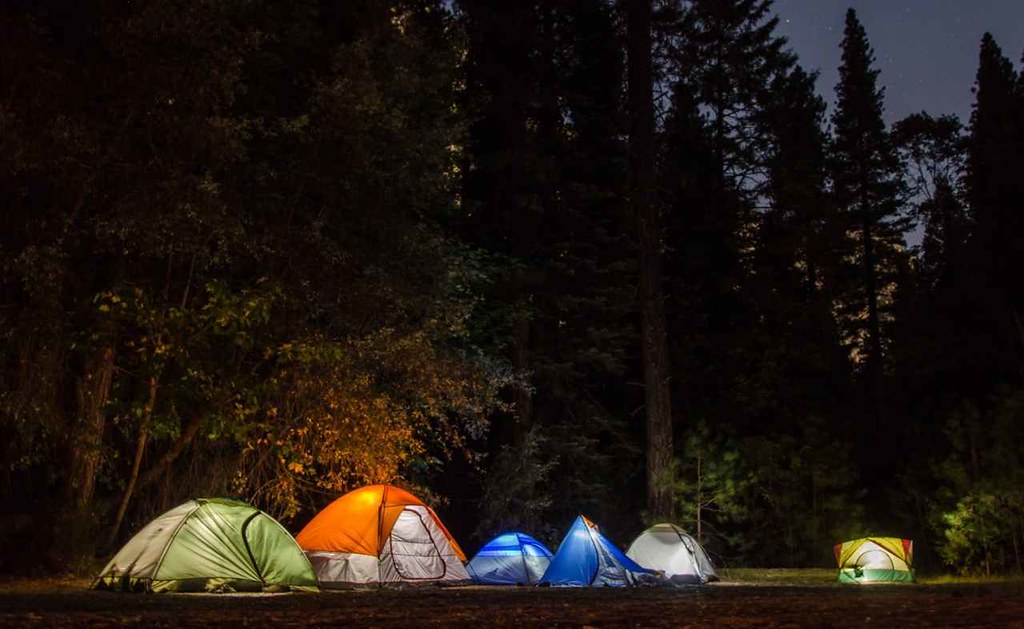 Scotland Camping