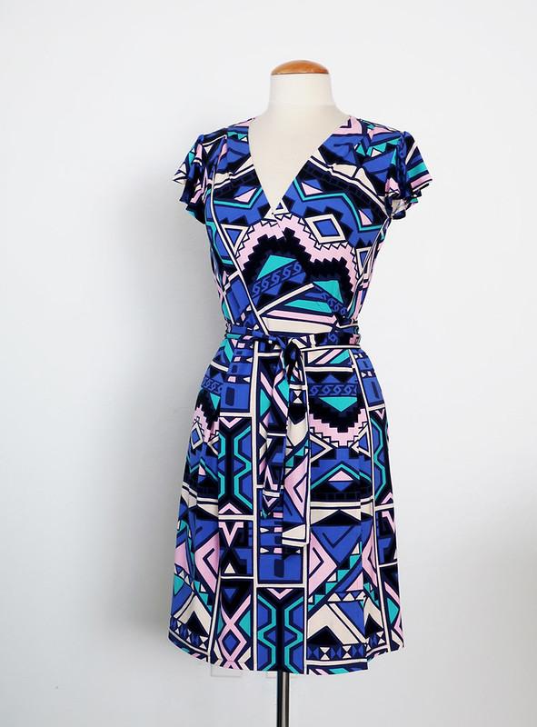 knit wrap dressB5454 front