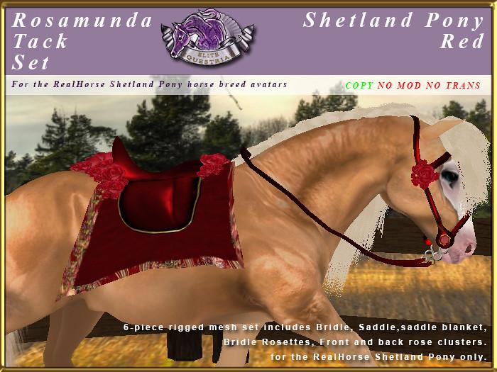 E-RH-Shetland-RosamundaSaddleSet-Red - TeleportHub.com Live!