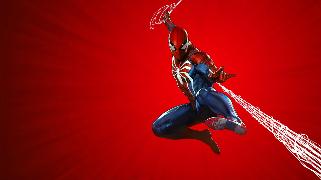 Marvel's Spider-Man PS4 Theme art