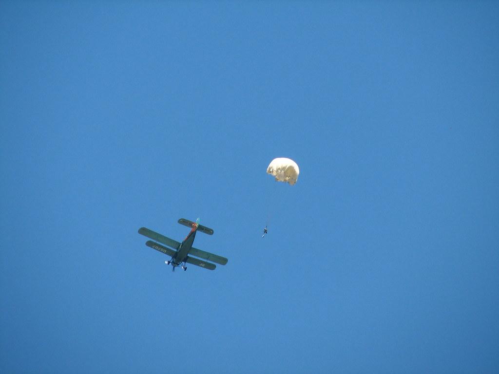Как я прыгал с парашютом