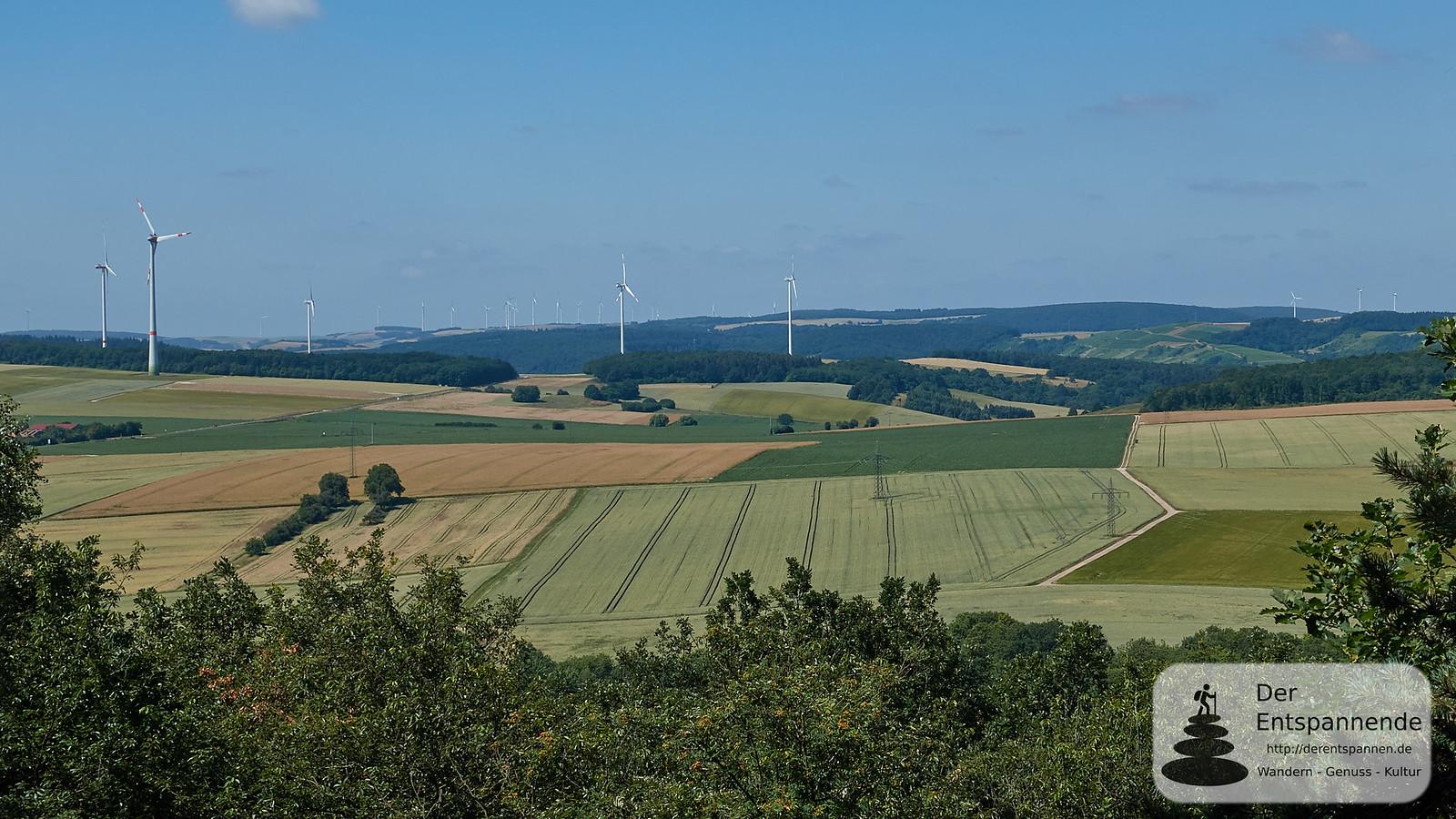 Nordpfalzblick auf dem Eichelberg
