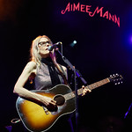 Thu, 21/06/2018 - 9:26pm - Aimee Mann and her band (including Jonathan Coulton) play in Prospect Park, Brooklyn, 6/21/18. Broadcast live on WFUV Public Radio. Photo by Gus Philippas/WFUV