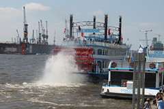 AIDAluna 2010 zum Nordkap - 1./2.Tag, Hamburg/Seetag
