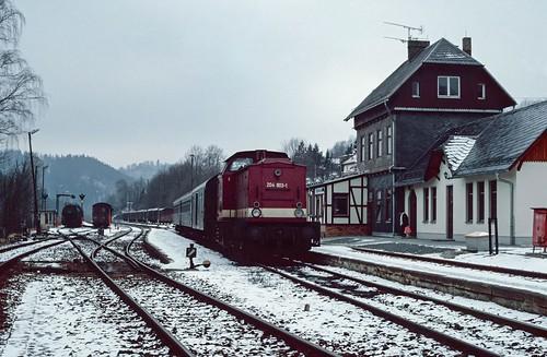 204 803 at Blankenstein (Saale).