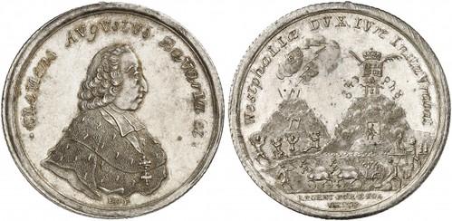 Clemens August of Bavaria taler