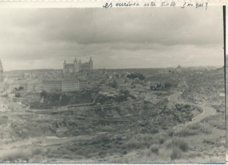 Vista de Toledo en 1963. Fotografía de Julián C.T.