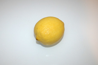 09 - Zutat Zitrone / Ingredient lemon