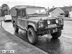 Land rover defender East kilbride  Scotland 2017