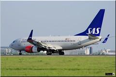 Boeing 737-76N(WL) SAS Scandinavian Airlines SE-REY