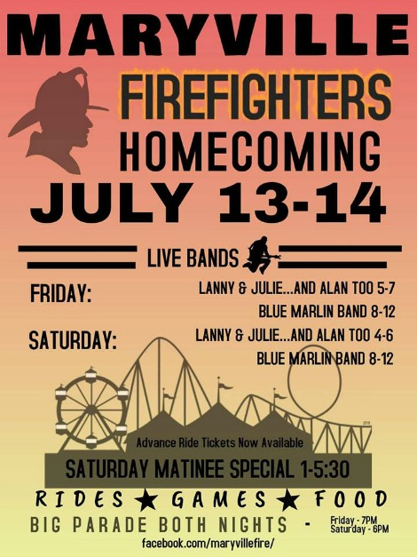 Maryville Homecoming 7-13, 7-14-18