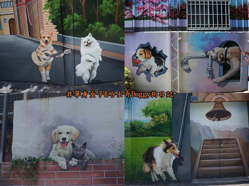 彰化一日遊11忠犬3D彩繪