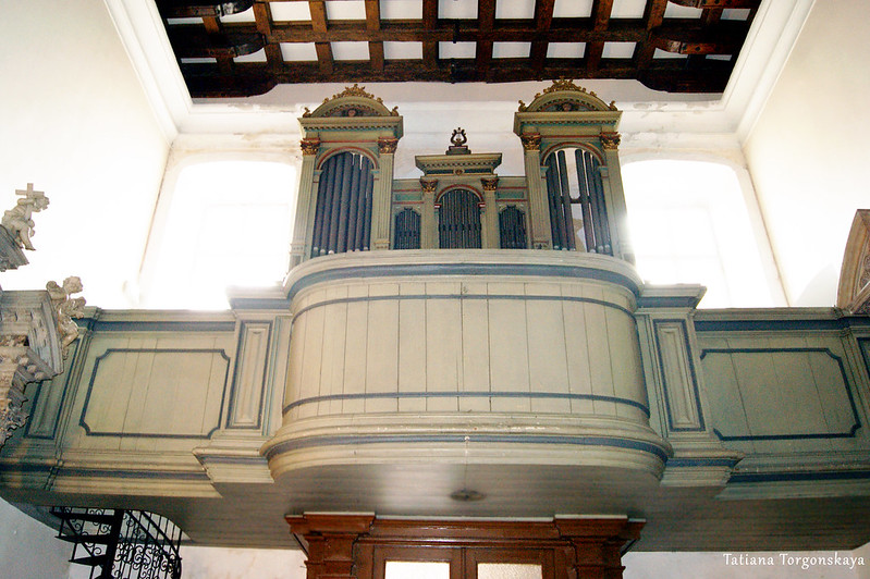 Хоры в церкви Св. Клары