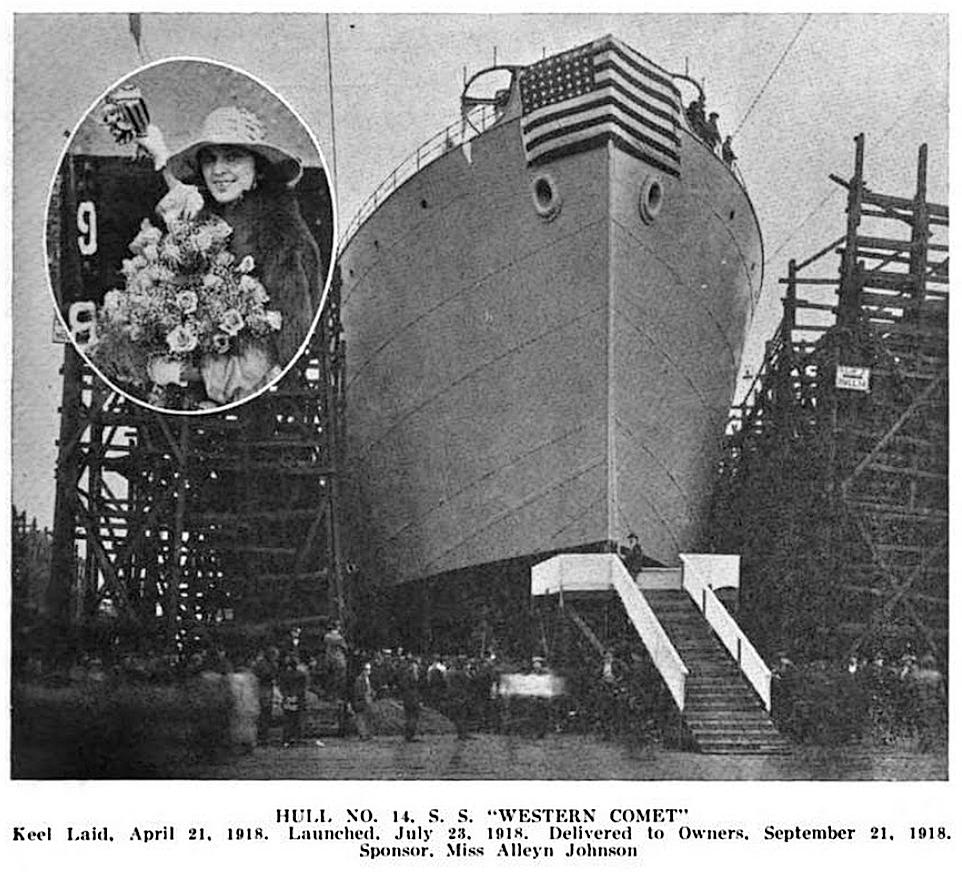 Launch of Western Comet