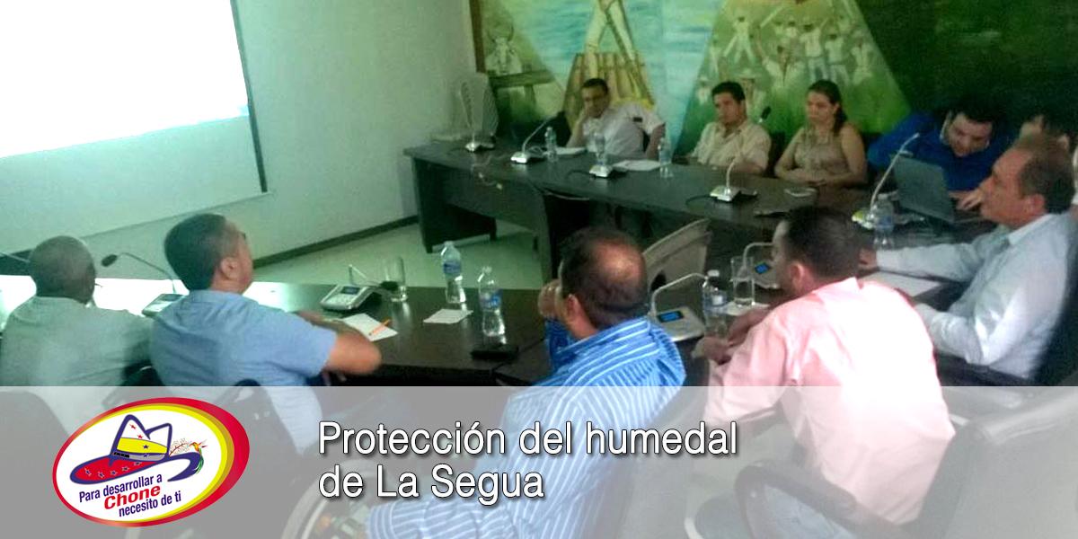 Protección del humedal de La Segua